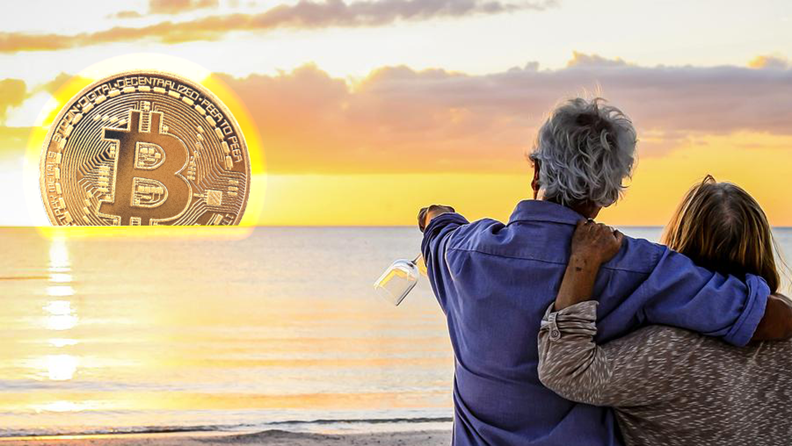 Baby Boomer Look to Bitcoin