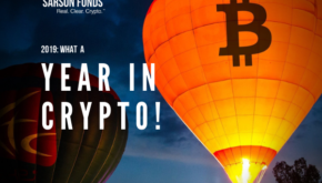 2019 - year in crypto - Sarson Funds -2