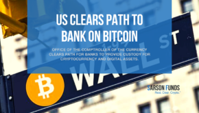 US Clears Path to Bank on Bitcoin