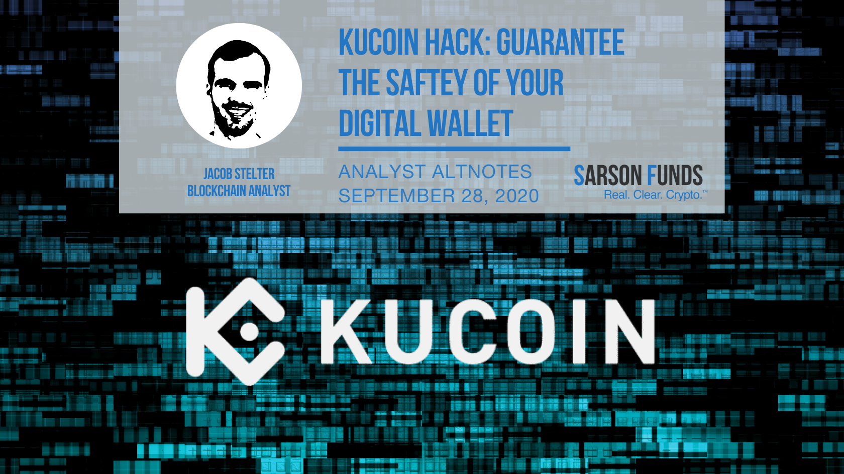 Sarson Funds: Protect Your Digital Assets After Kucoin Hack