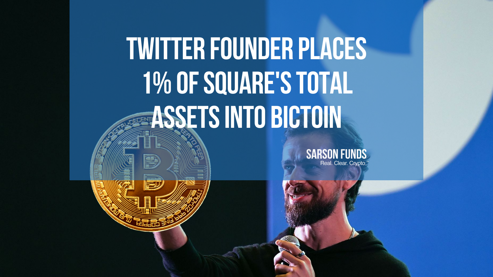 Jack Dorsey Places 50 Million of Square's Assets into Bitcoin