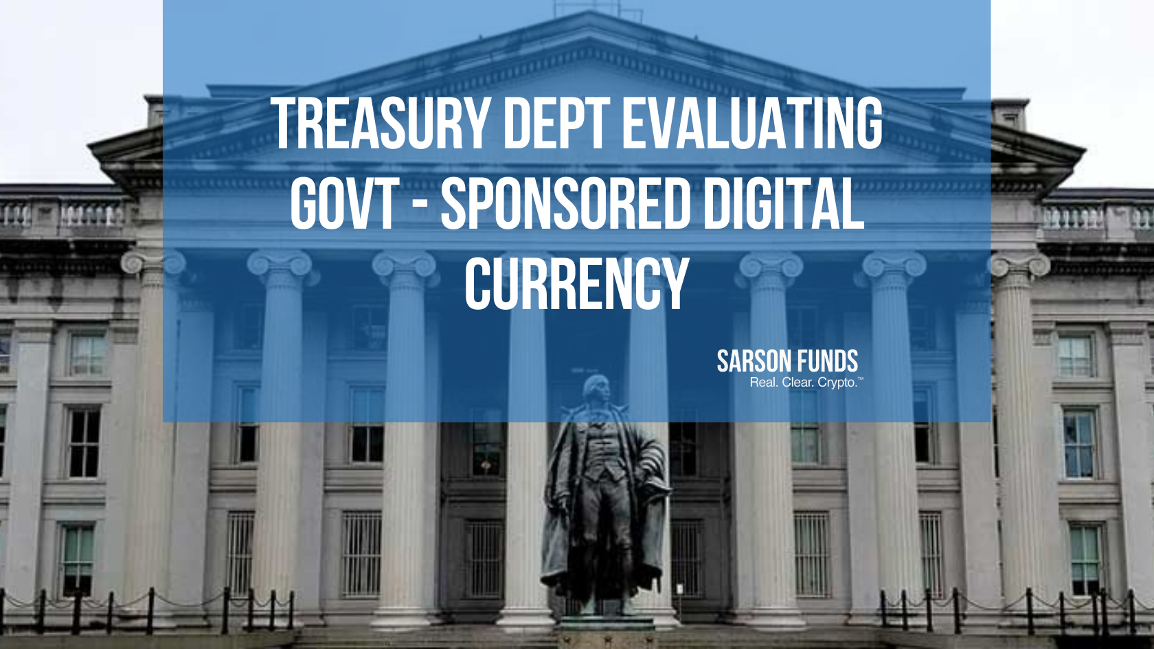 Treasury Department Exploring Use of FedCoin