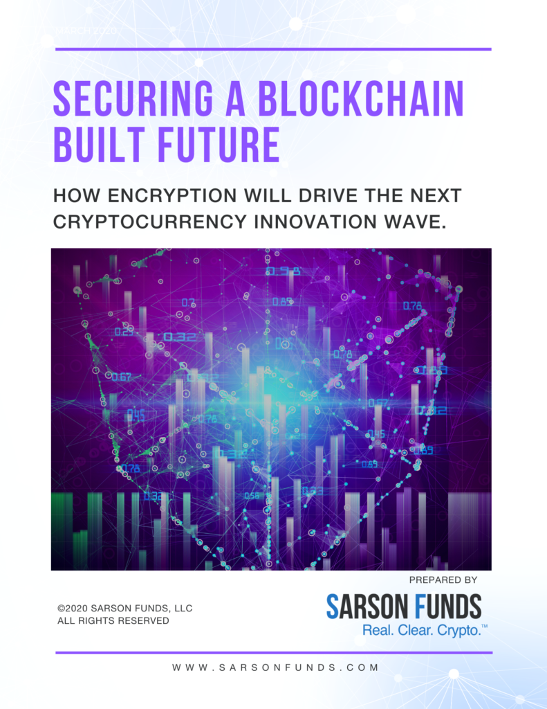 Sarson Funds Blockchain Cryptography White Paper