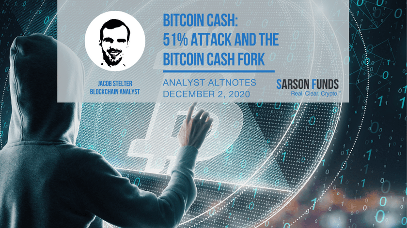 Sarson Funds Bitcoin Cash Fork Cryptocurrency Financial Advisor