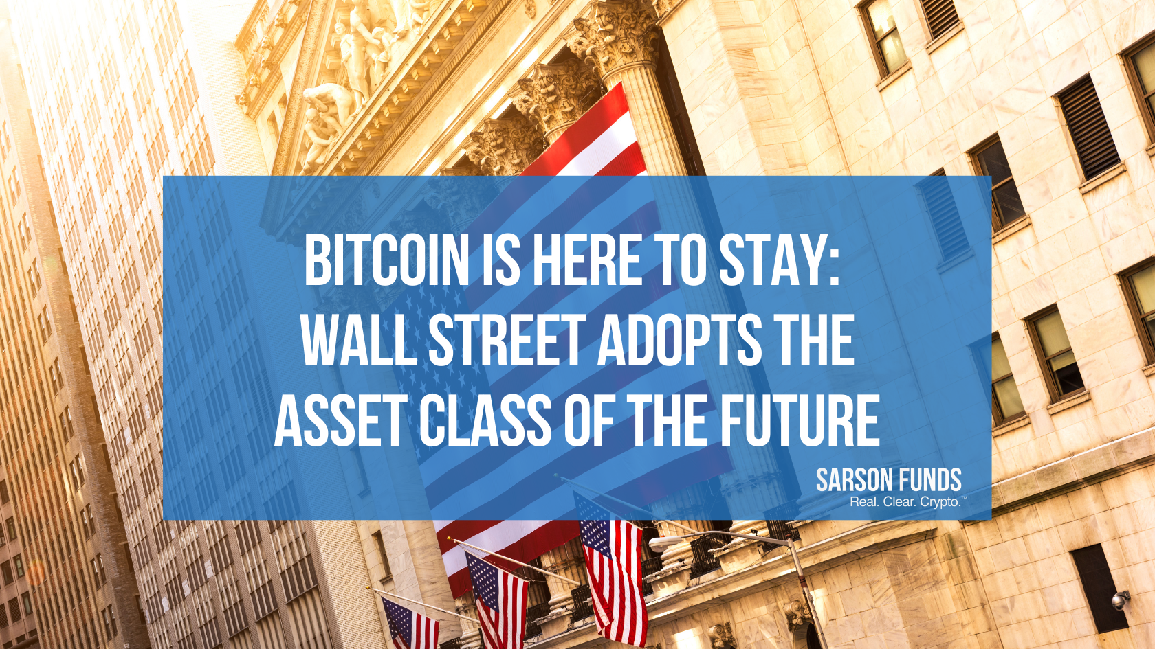 Wall Street Adopts Bitcoin Cryptocurrency Financial Advisors