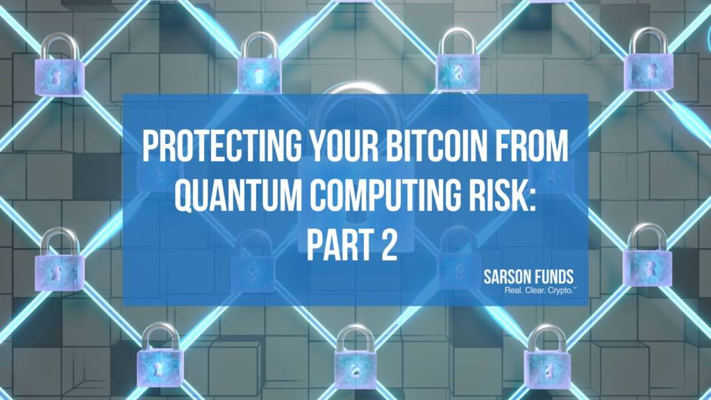 Guaranteeing Bitcoin Safety with Quantum Computing Advancements