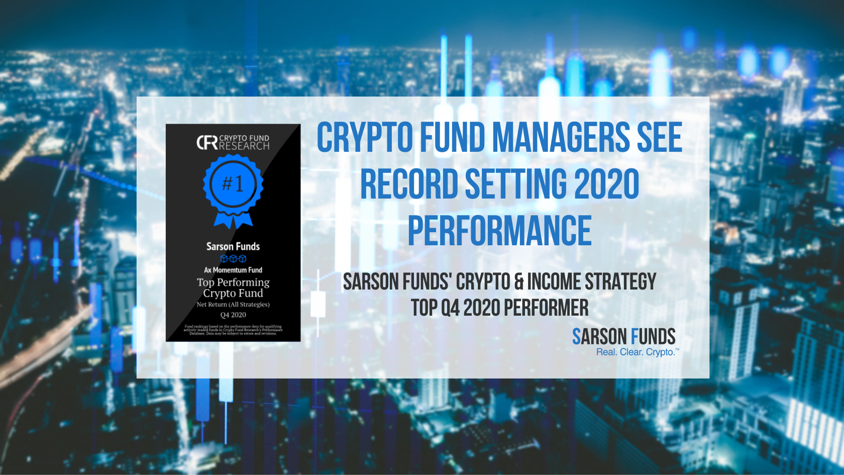 Sarson Funds Crypto Strategy Award