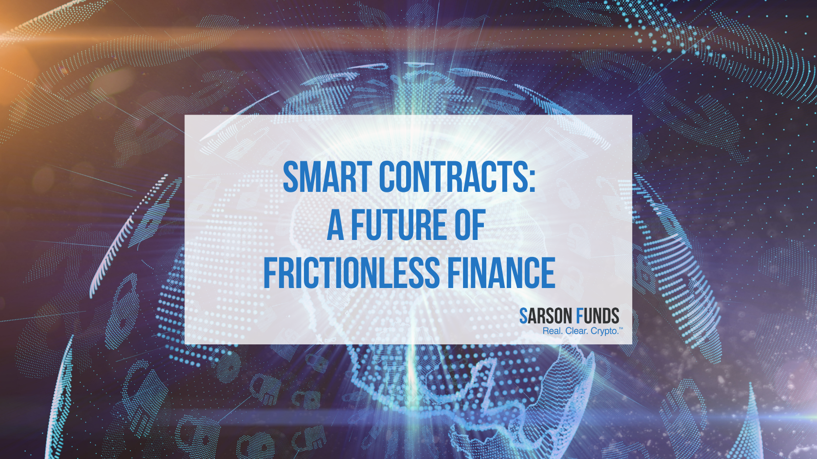 Smart Contracts: The future of financial operations - Sarson Funds Cryptocurrency Financial Advisor